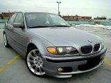 2004 Silver Grey Metallic BMW 3 Series 330i Sedan #44653312