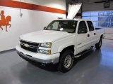2006 Summit White Chevrolet Silverado 1500 LT Crew Cab 4x4 #44652044