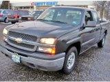 2004 Dark Gray Metallic Chevrolet Silverado 1500 LS Extended Cab #44652058