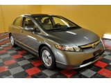 2006 Galaxy Gray Metallic Honda Civic Hybrid Sedan #44653856