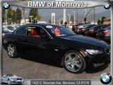 2008 Jet Black BMW 3 Series 335i Convertible #44653363