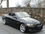2008 Jet Black BMW 3 Series 335i Convertible #44653108