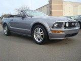 2006 Tungsten Grey Metallic Ford Mustang GT Premium Convertible #44652263