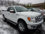2011 Oxford White Ford F150 Lariat SuperCab 4x4 #44653152