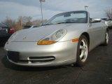 1999 Arctic Silver Metallic Porsche 911 Carrera Cabriolet #44652355
