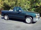 2005 Dark Green Metallic Chevrolet Silverado 1500 Regular Cab #44653623