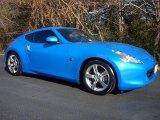 2009 Monterey Blue Nissan 370Z Coupe #44653643