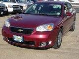 2007 Sport Red Metallic Chevrolet Malibu LT Sedan #44653227
