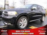 2011 Blackberry Pearl Dodge Durango Crew Lux #44653248