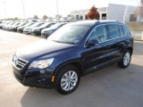 2011 Night Blue Metallic Volkswagen Tiguan SE #44653721