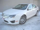 2011 White Suede Ford Fusion SEL #44652458