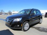 2011 Volkswagen Tiguan Deep Black Metallic