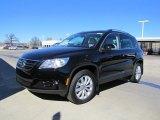 2011 Deep Black Metallic Volkswagen Tiguan SE #44653742