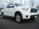 2007 Super White Toyota Tundra Limited Double Cab 4x4 #44652691