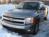 2008 Graystone Metallic Chevrolet Silverado 1500 LT Extended Cab 4x4 #44736049