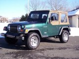 2001 Jeep Wrangler Forest Green