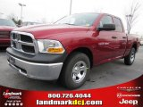 2011 Deep Cherry Red Crystal Pearl Dodge Ram 1500 ST Quad Cab #44735388