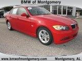2008 Crimson Red BMW 3 Series 328i Sedan #44735606