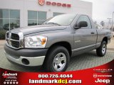 2008 Mineral Gray Metallic Dodge Ram 1500 SXT Regular Cab #44735395