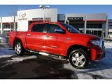 2007 Radiant Red Toyota Tundra Limited CrewMax 4x4 #44734344