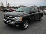 2011 Black Chevrolet Silverado 1500 LT Crew Cab #44736138