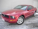 2007 Redfire Metallic Ford Mustang V6 Premium Coupe #44734645