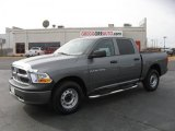 2011 Mineral Gray Metallic Dodge Ram 1500 ST Crew Cab 4x4 #44735676