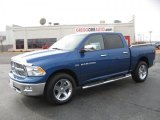 2011 Deep Water Blue Pearl Dodge Ram 1500 Big Horn Crew Cab 4x4 #44735677