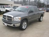 2008 Mineral Gray Metallic Dodge Ram 1500 Lone Star Edition Quad Cab #44735893