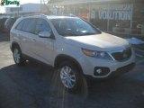 2011 White Sand Beige Kia Sorento EX V6 AWD #44735509