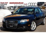 2008 Deep Sea Blue Pearl Effect Audi A4 2.0T quattro Sedan #44735899