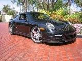 2007 Basalt Black Metallic Porsche 911 Turbo Coupe #44735902