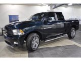 2011 Hunter Green Pearl Dodge Ram 1500 Sport Quad Cab 4x4 #44735521