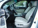 2011 Ford Explorer Limited Medium Light Stone Interior
