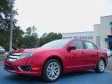 2011 Red Candy Metallic Ford Fusion SEL #44735255