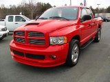 2004 Flame Red Dodge Ram 1500 Sport Quad Cab #44735974