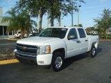 2011 Summit White Chevrolet Silverado 1500 LT Crew Cab 4x4 #44804958
