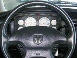 2002 Dodge Ram 1500 SLT Quad Cab 4x4 Steering Wheel