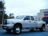 2004 Bright Silver Metallic Dodge Ram 3500 SLT Quad Cab 4x4 Dually #44804984