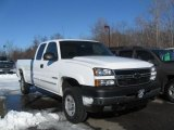2007 Chevrolet Silverado 2500HD Classic Work Truck Extended Cab Data, Info and Specs