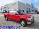 2010 Vermillion Red Ford F150 XLT SuperCrew 4x4 #44804008