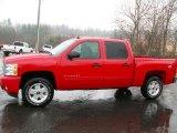 2011 Victory Red Chevrolet Silverado 1500 LT Crew Cab 4x4 #44805747