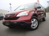 2007 Tango Red Pearl Honda CR-V LX #44805085