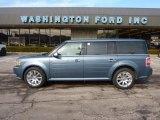2010 Steel Blue Metallic Ford Flex Limited AWD #44805310
