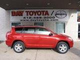 2011 Barcelona Red Metallic Toyota RAV4 I4 4WD #44804609