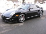 2007 Black Porsche 911 Turbo Coupe #44804618