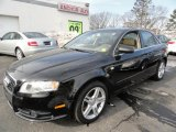 2008 Deep Sea Blue Pearl Effect Audi A4 2.0T quattro S-Line Sedan #44805168