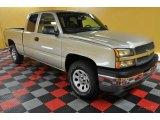 2005 Sandstone Metallic Chevrolet Silverado 1500 LS Extended Cab 4x4 #44805520
