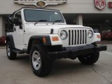 2006 Stone White Jeep Wrangler Sport 4x4 Right Hand Drive #44805562