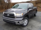 2011 Magnetic Gray Metallic Toyota Tundra SR5 Double Cab 4x4 #44866695